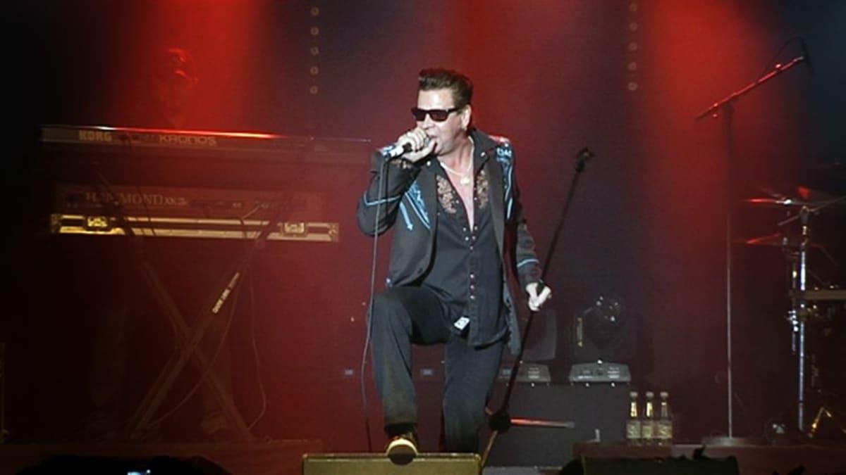 Popeda esiintymässä Helsingin Kulttuuritalolla 19. lokakuuta.