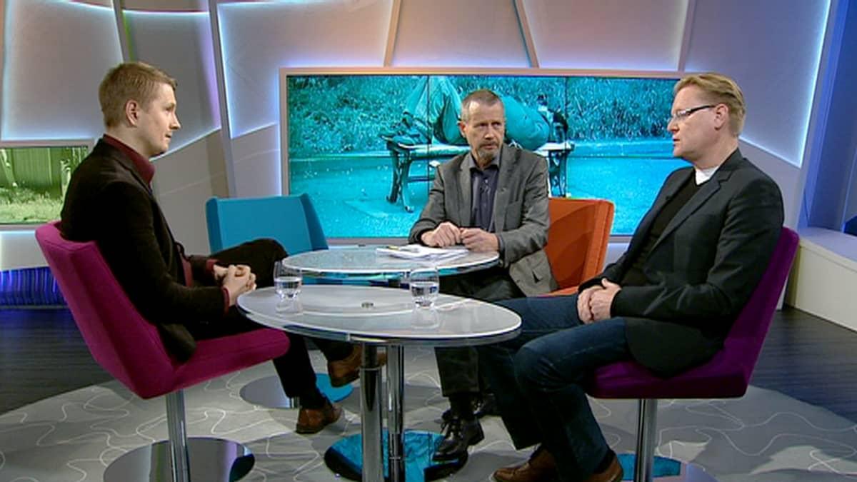 Aarne Kiviniemi ja Juha-Pekka Pitkänen