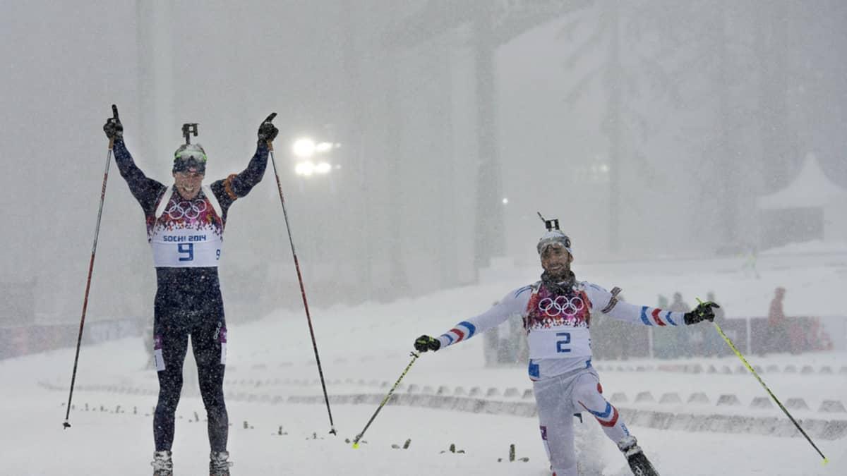 Emil Hegle Svendsen Martin Fourcade
