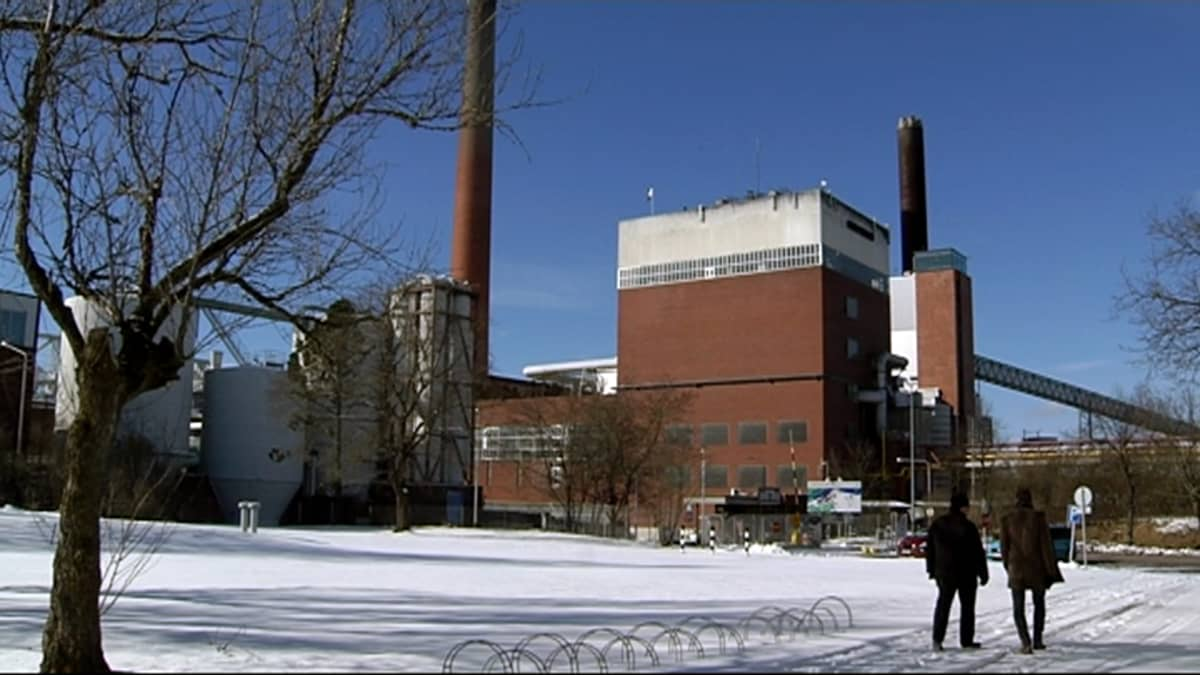 Myllykosken lakkautettu paperitehdas