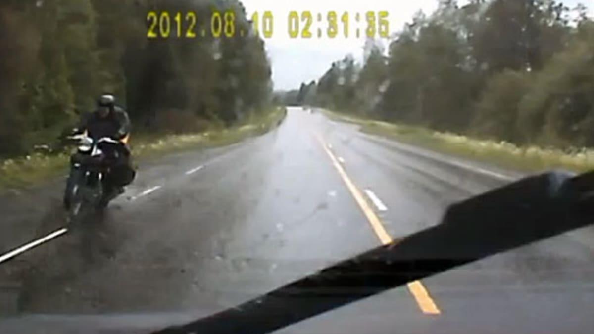 Kuvakaappaus ohitusvideosta
