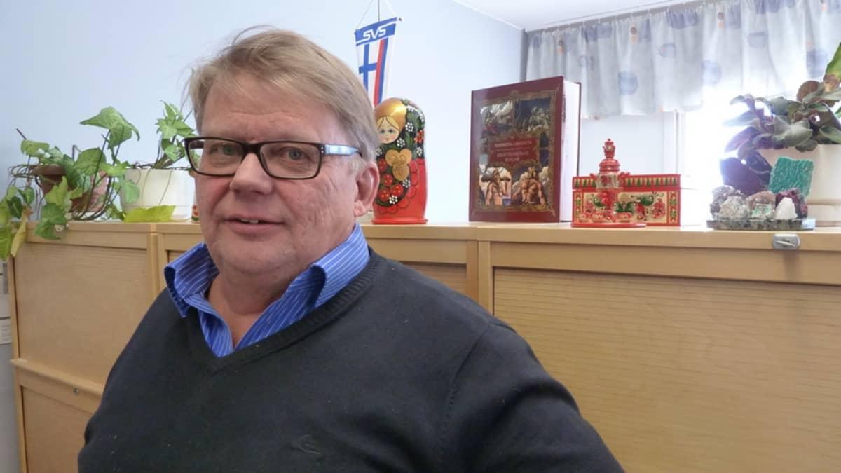 Suomi-Venäjä-seuran Pohjois-Suomen piirijärjestön toiminnanjohtaja Matti Ukkola.