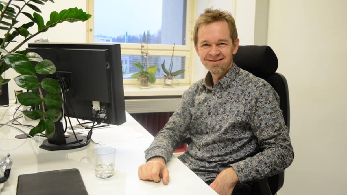 Heimo Ketola valmistautuu tulevan kesän triathlonille