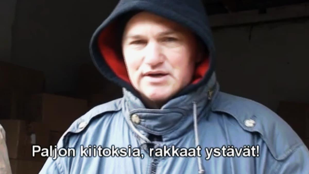 ruutukaappaus videosta kiitos suomalaisille