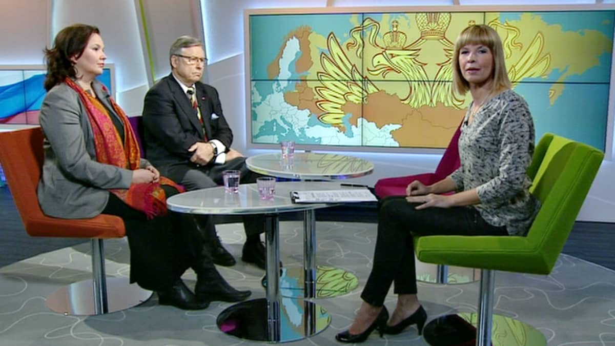 Hanna Smith, Pertti Salolainen, Anu Vilkman.