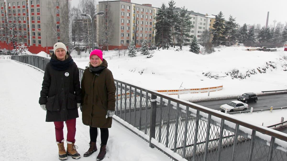 Vilma Ruokoski ja Mari Uusivirta