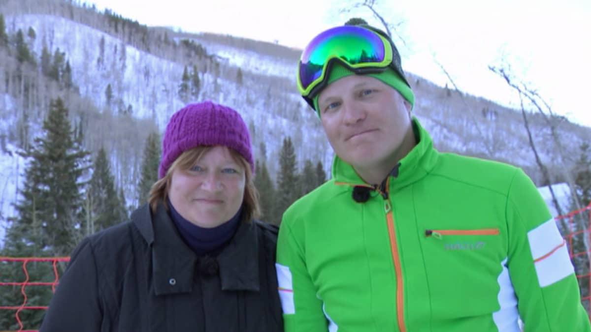 Nina Vanhatalo ja Kalle Palander