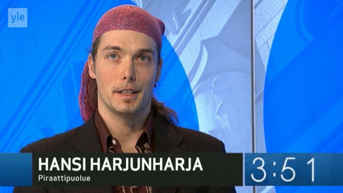Ehdokas Hansi Harjunharja
