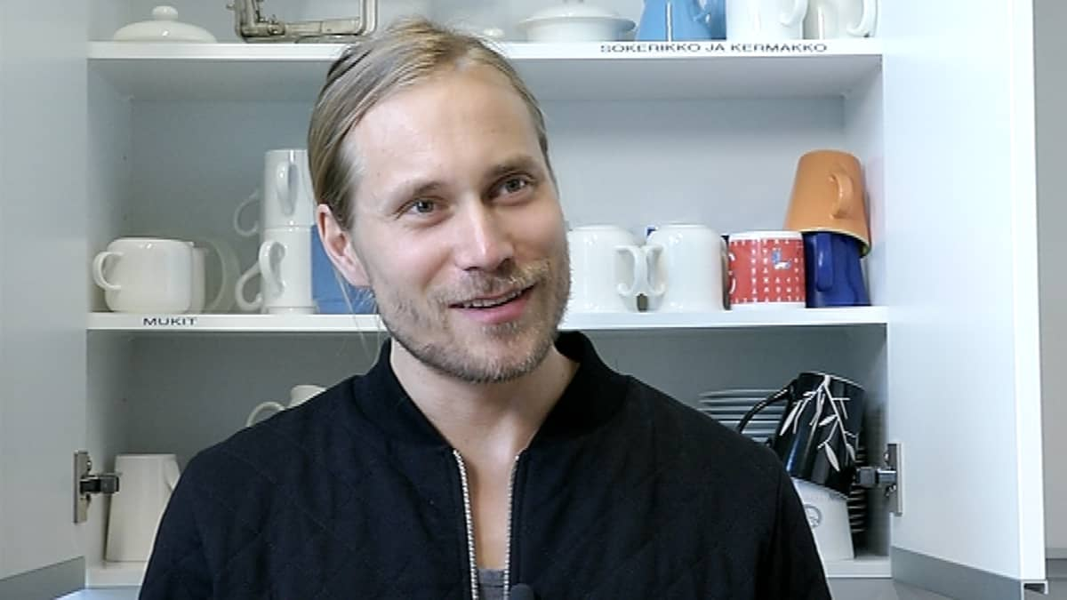 Muusikko Tatu Rönkkö