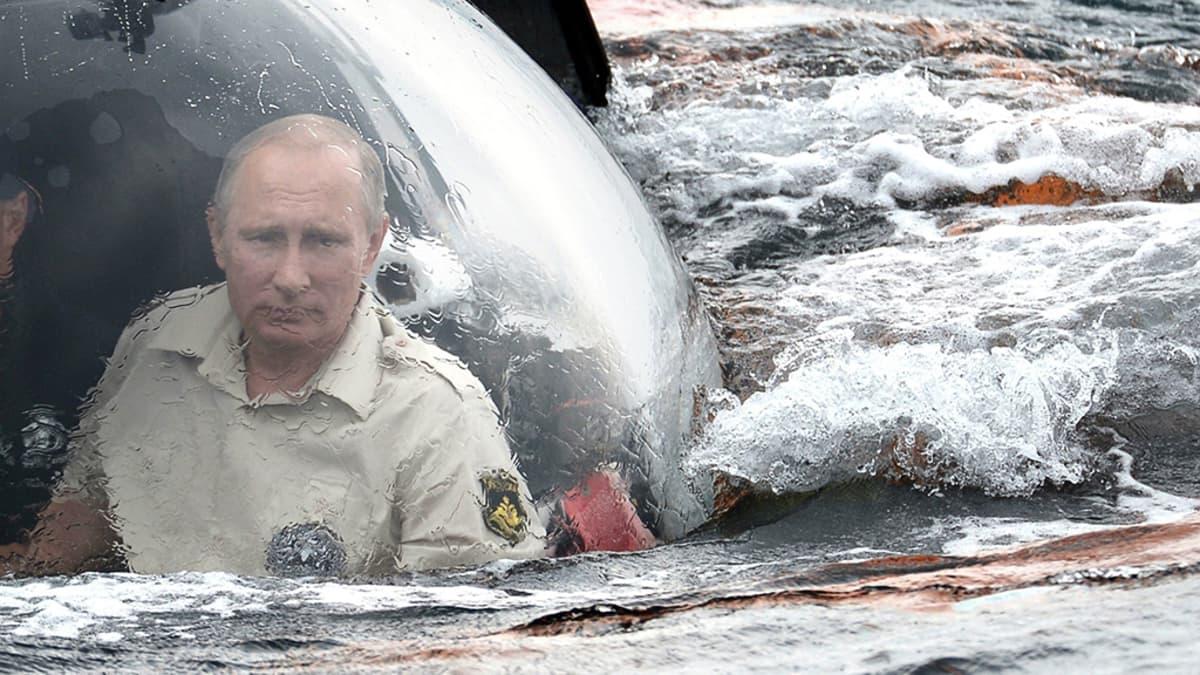 Venäjän presidentti Vladimir Putin on tehnyt sukellusveneajelun Mustassameressä Venäjään liitetyllä Krimin niemimaalla.