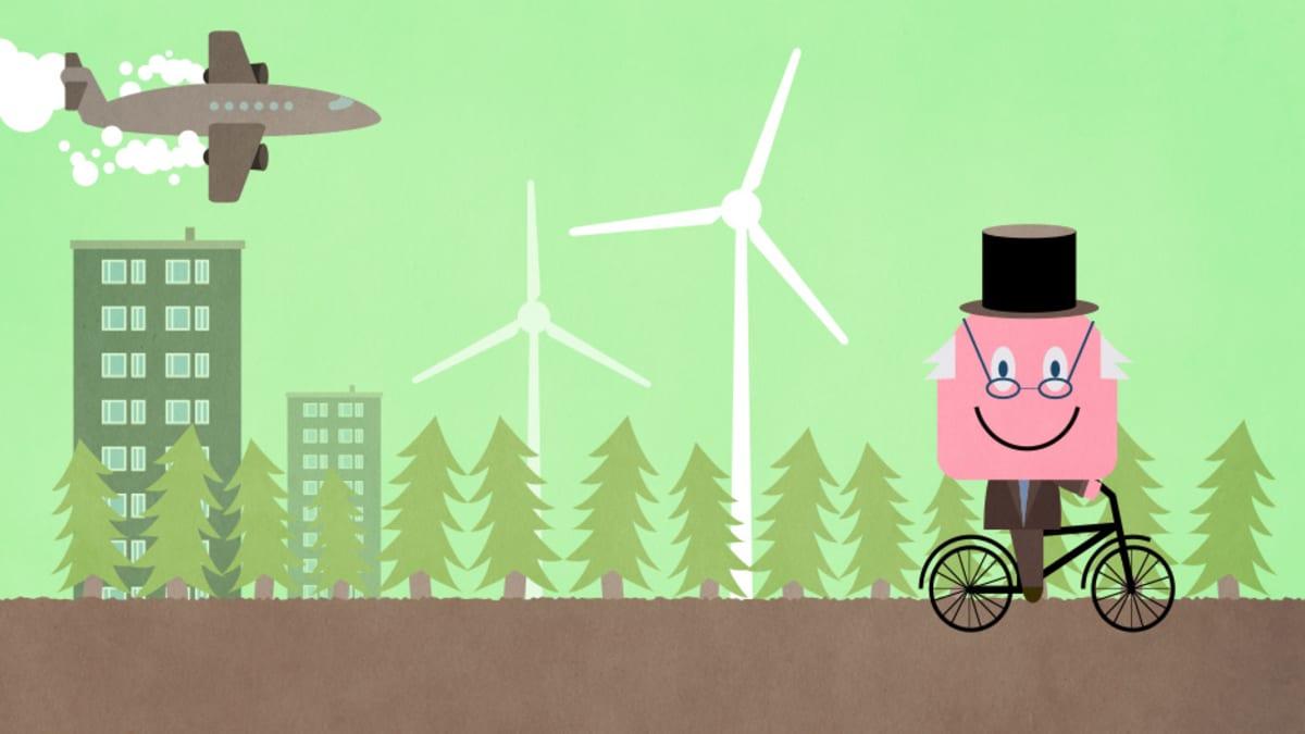 Mitä sinä voit tehdä ilmastonmuutoksen torjumiseksi? - Neuvot sadassa sekunnissa