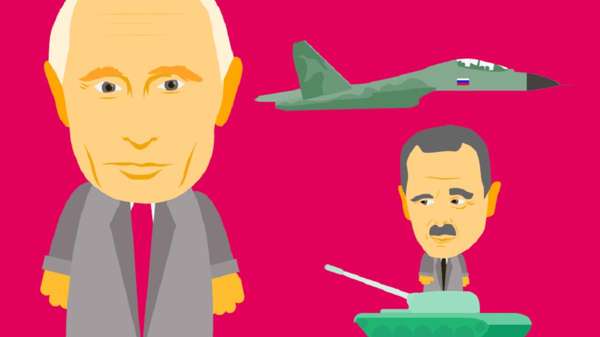 Venäjän perustelut sotaretkille Ukrainassa ja Syyriassa eivät ole aina vastanneet todellisuutta.