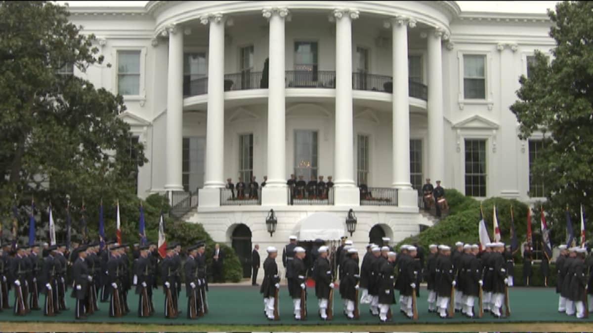 Obama vastaanottaa pohjoismaisia valtionpäämiehiä