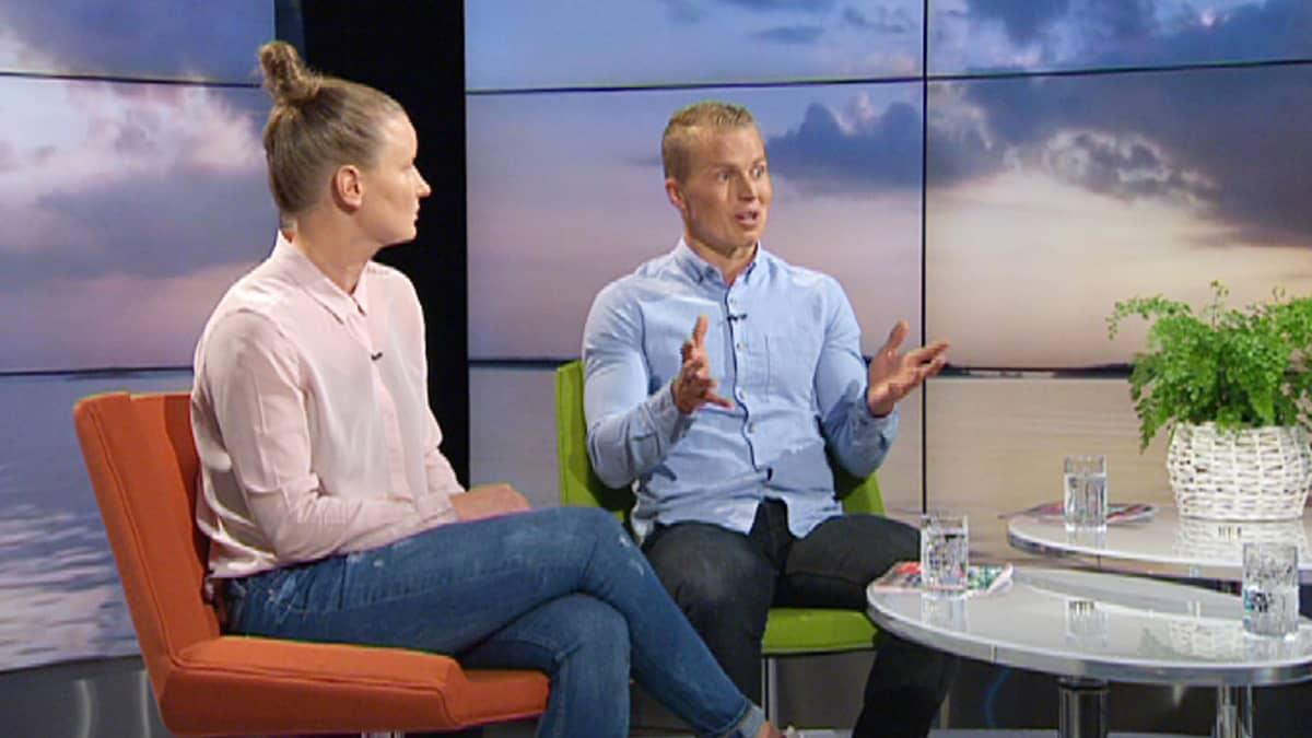 Kaisa Pöyskö ja Henri Karjula
