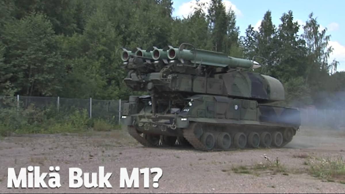 Ilmatorjuntaohjusjärjestelmä BUK M1