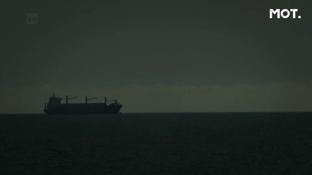 Arctic Sea -laiva merellä.
