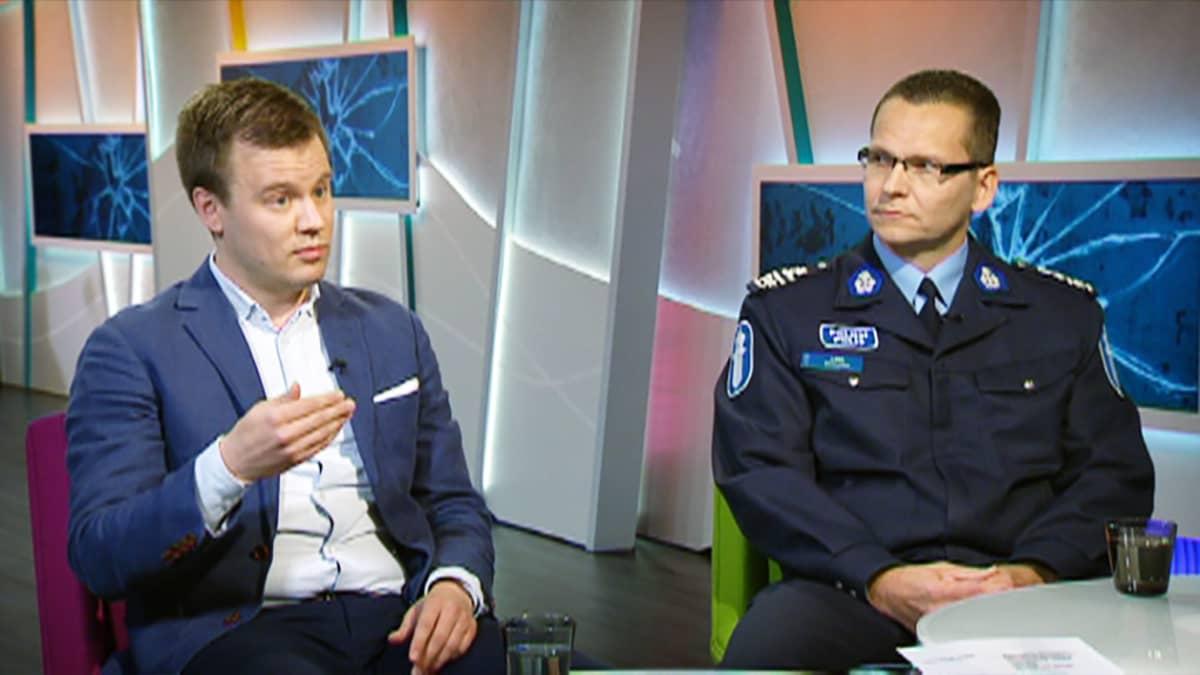 Petri Danielsson ja Ilkka Koskimäki.