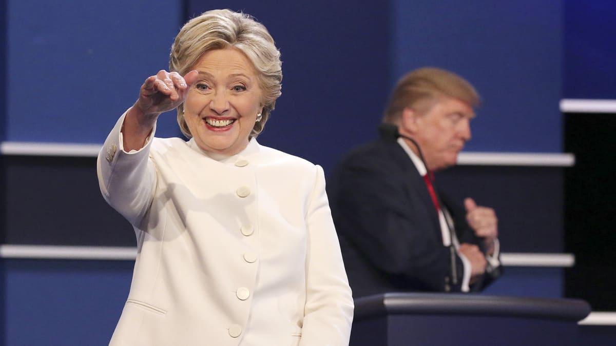 Hillary Clinton ja Donald Trump.