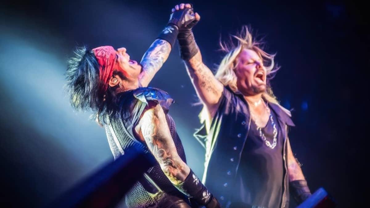 Mötley Crüe -yhtye.
