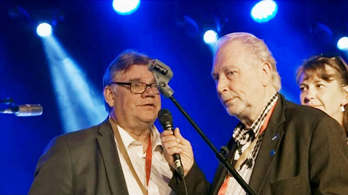 Timo Soini  ja Matti Putkonen