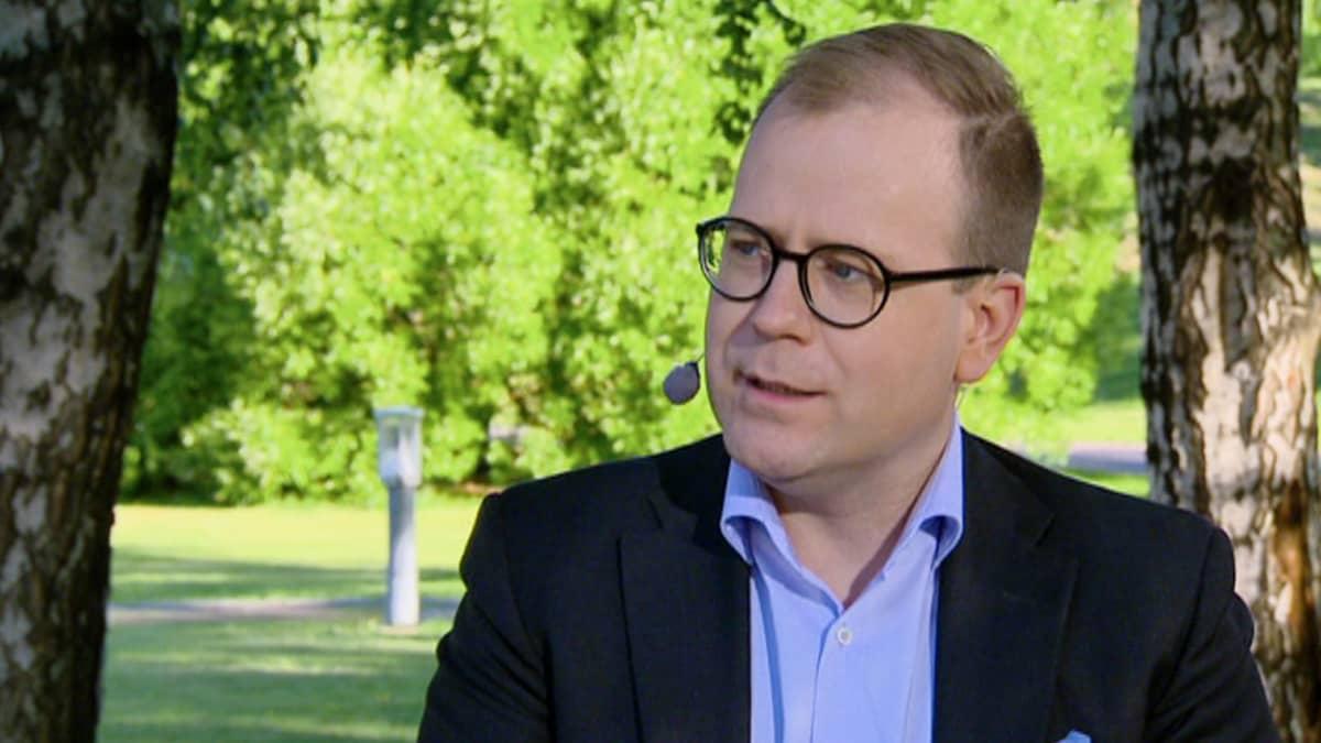 Kyberturvayritys Nixu Oyj:n kaupallinen johtaja Valtteri Peltomäki