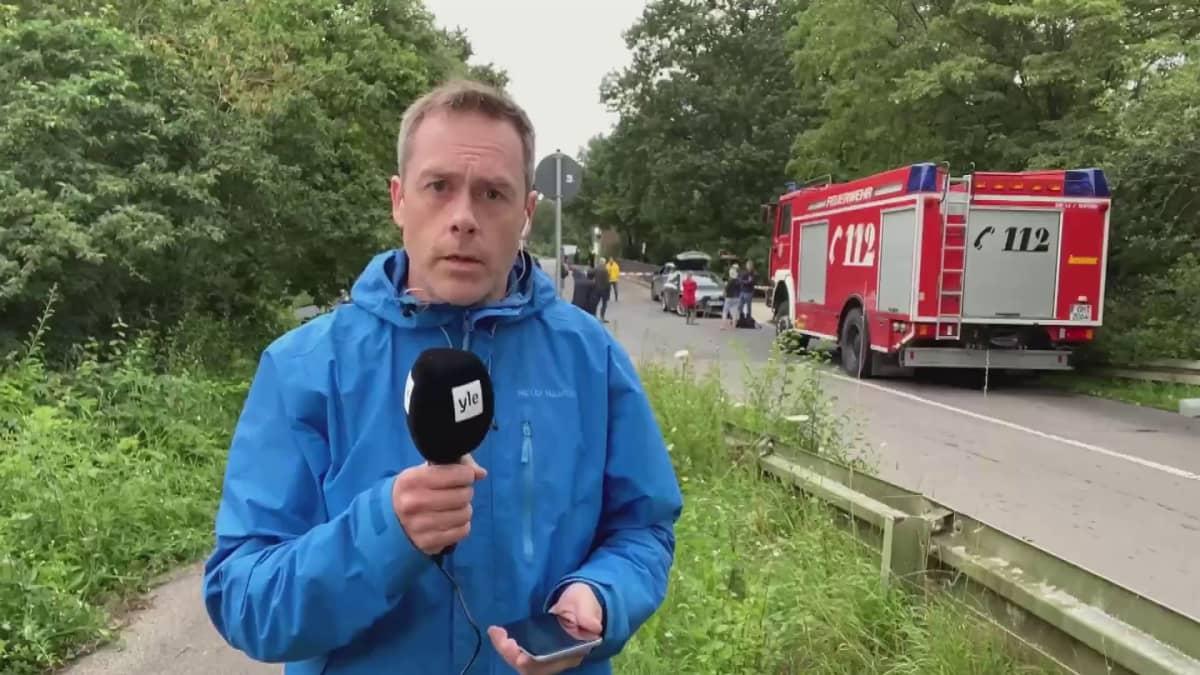 EU-erikoistoimittajamme Janne Toivonen antaa raportin Erftstadista