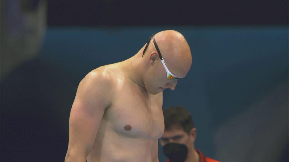 Matti Mattsson voitti 100 metrin rintauinnin alkueränsä, mutta ei päässyt välieriin