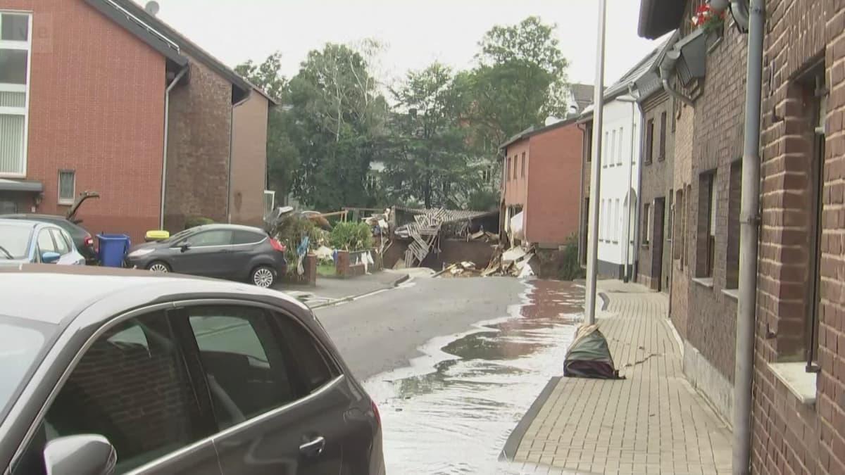 Tulvatuhojen laajuutta selvitellään Euroopassa