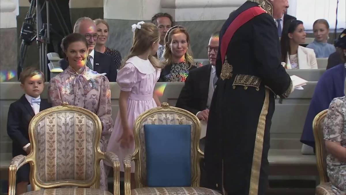 Ruotsin prinssi Julian kastetaan