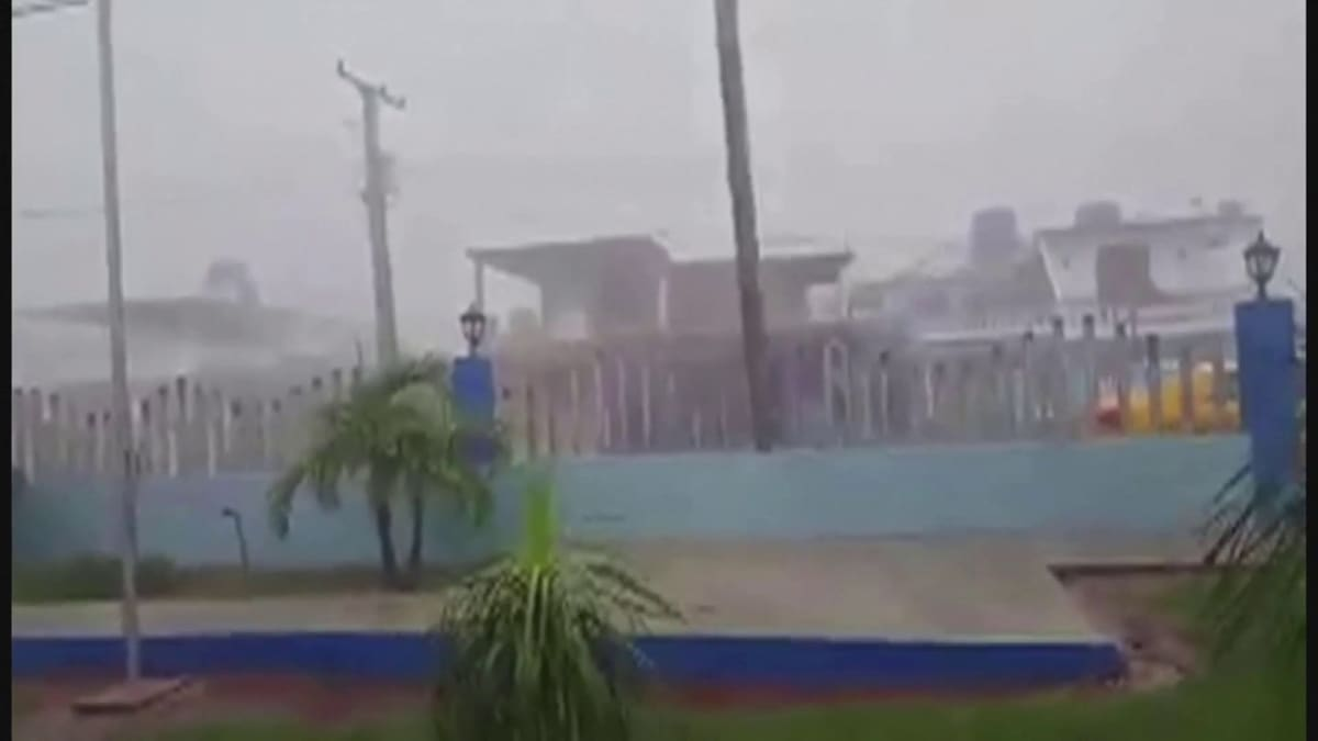 Elsa-myrsky ohitti Kuuban matkalla Floridaan