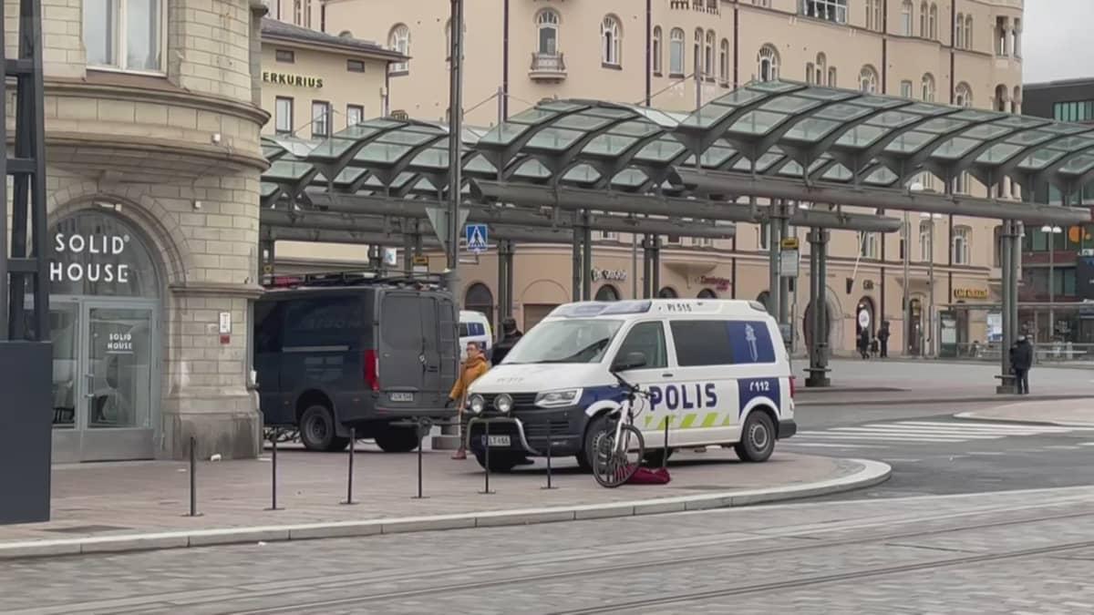Poliisioperaatio Tampereella