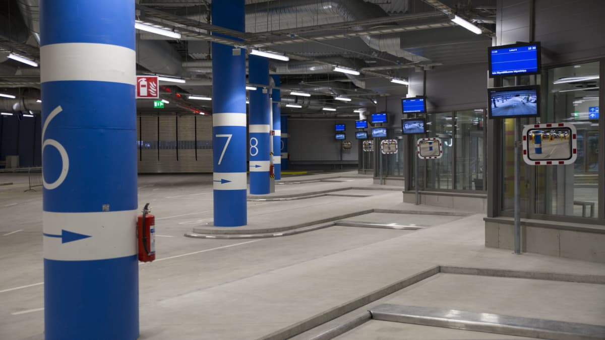 Matinkylän bussiterminaali Espoossa