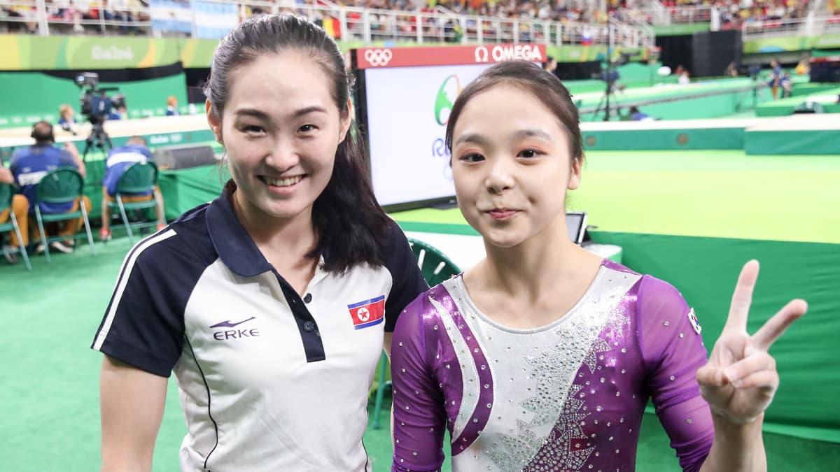 Lee Eun-ju ja Hong Un-jong