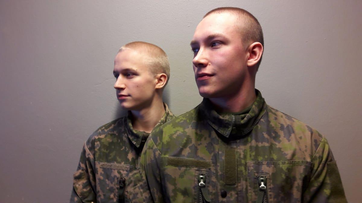 Alokkaat Joonatan Tuurala ja Niklas Riippa