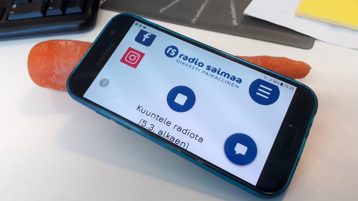 Radio Saimaa kännykässä