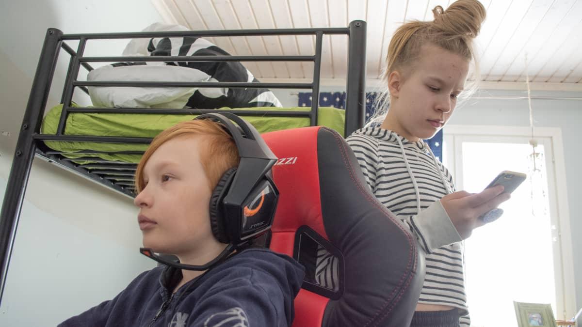 Otso ja Veera Härkönen