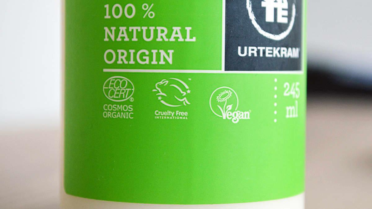 Leaping Bunny -logo kertoo sen, että tuote on varmasti eläimillä testaamaton.