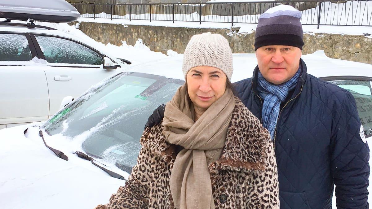 Olga Markina ja Ari Hartikainen.