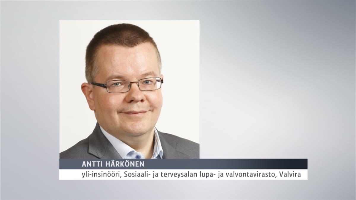 Antti Härkönen, Valvira.