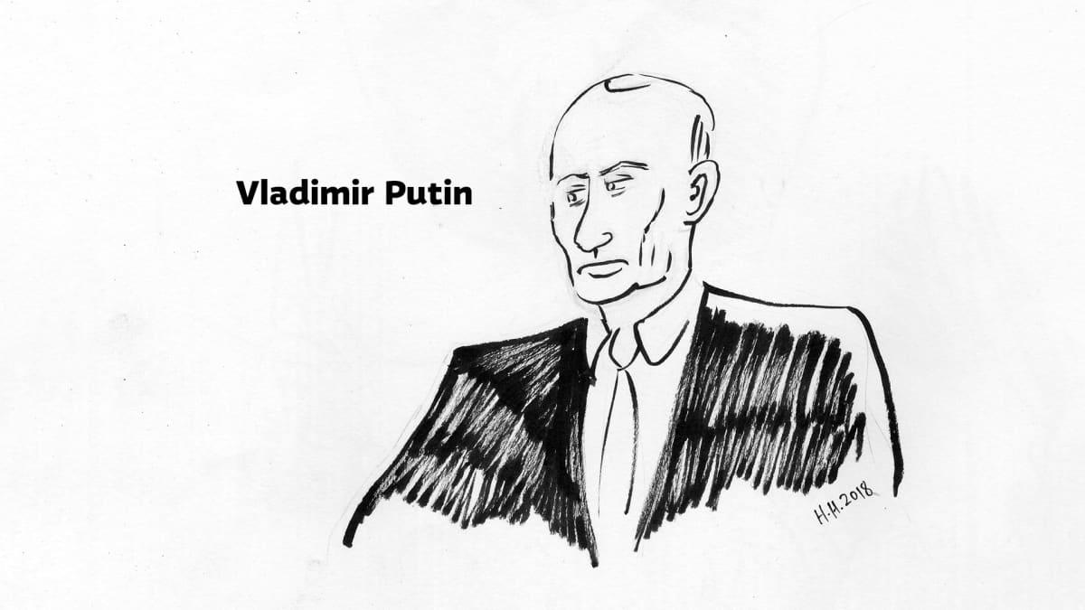 Piirros Vladimir Putinista