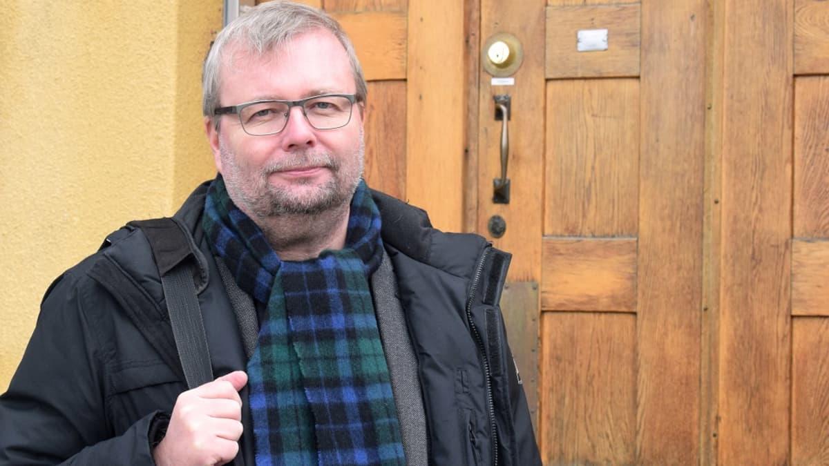 Turun museopalvelujohtaja Olli Immonen.