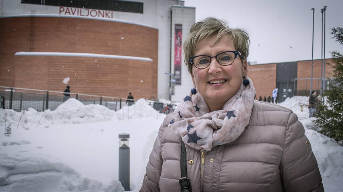 Helinä Mäenpää, Viestintäjohtaja Jyväskylä.