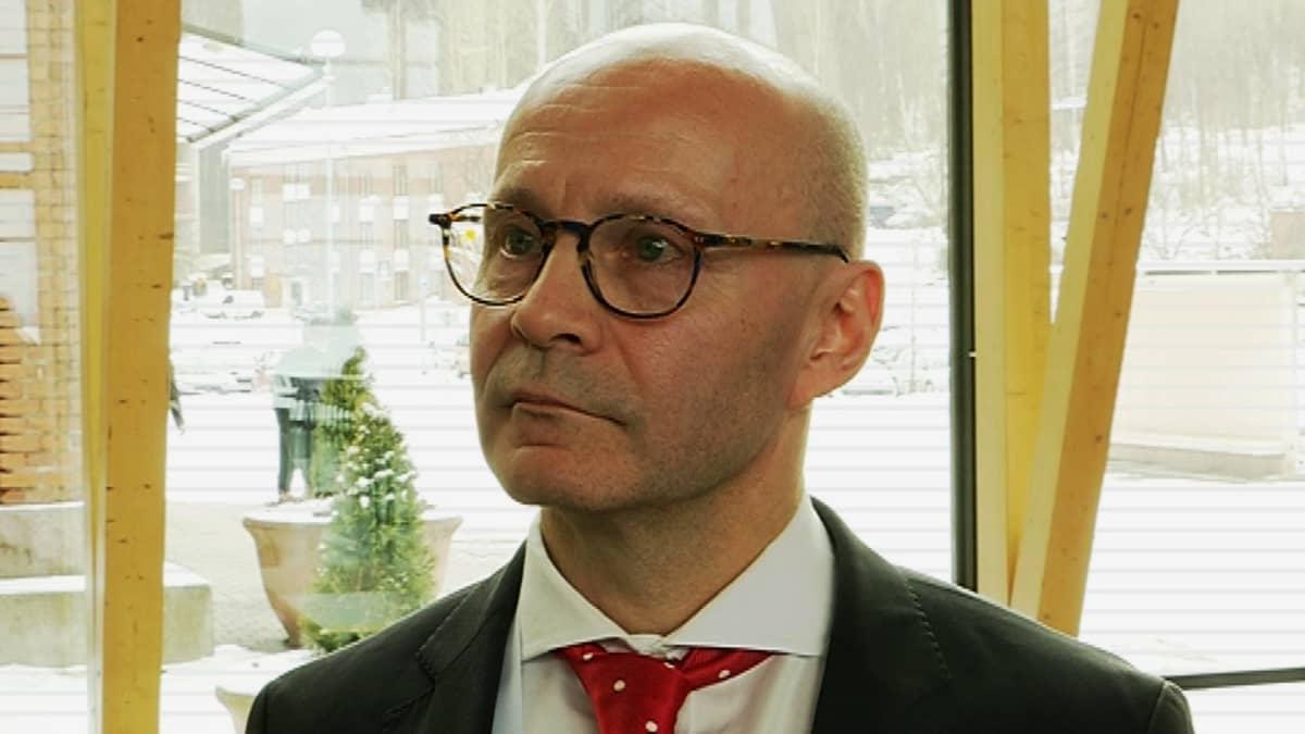Suomen Palopäällystöliiton toiminnanjohtaja Ari Keijonen.