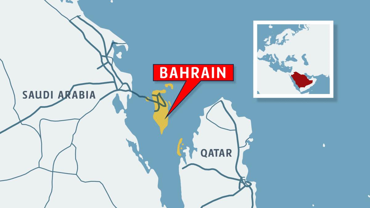 Kartta, Bahrain.