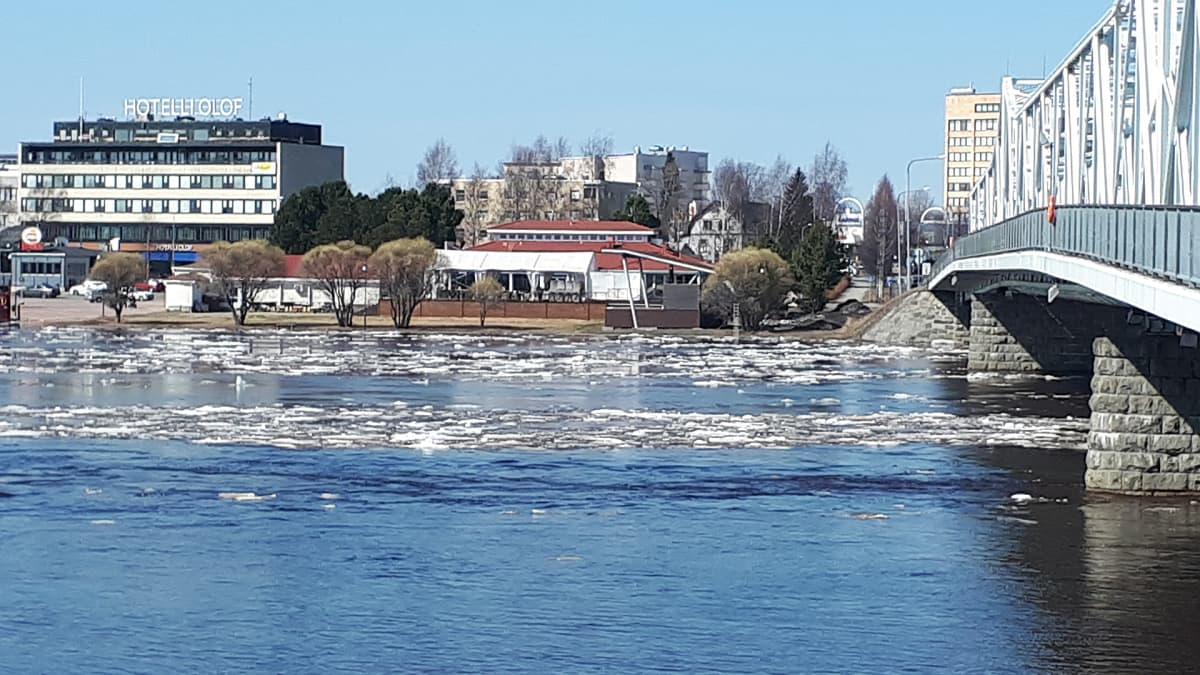 Tulva Tornionjoella 11.5.2018.