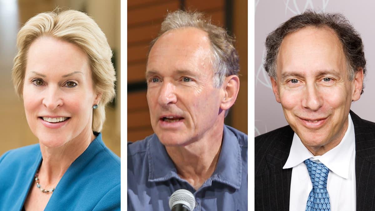 Frances Arnold, Tim Berners-Lee ja Robert Langer