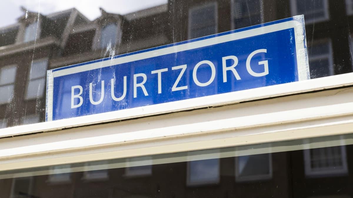 Buurtzorg-yhtiön toimipiste Amsterdamissa.