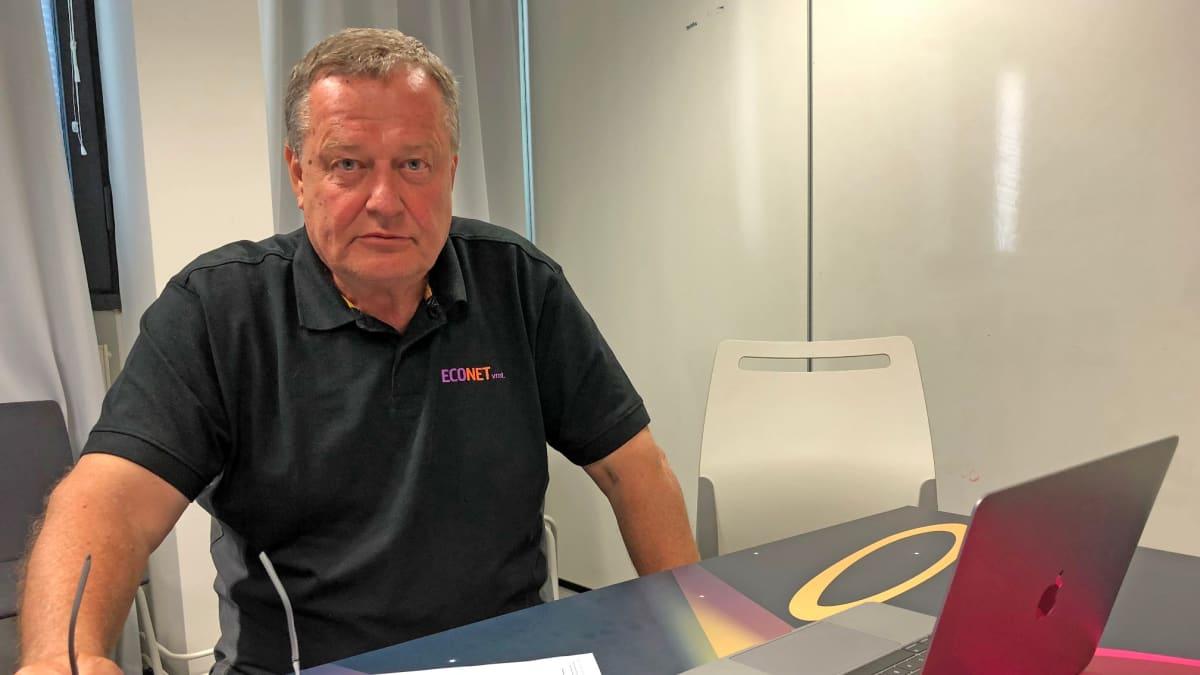 Econetin toimitusjohtaja Matti Leppäniemi