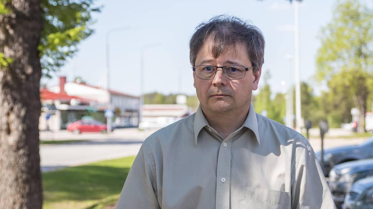 Puolangan pormestari Harri Peltola.