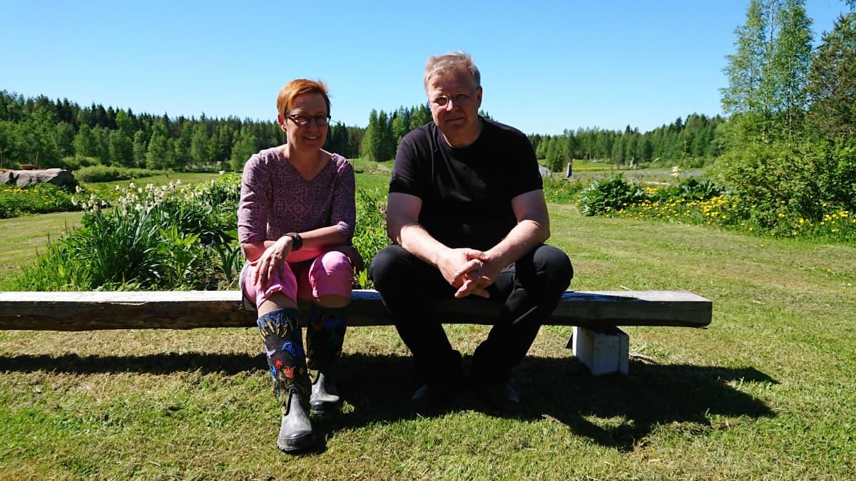 Marja Salonen ja Visa Törmälä